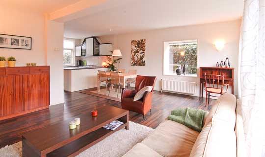 verkoop klaarmaken woonkamer