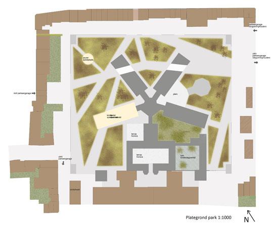 herbestemming Noordsingel complex