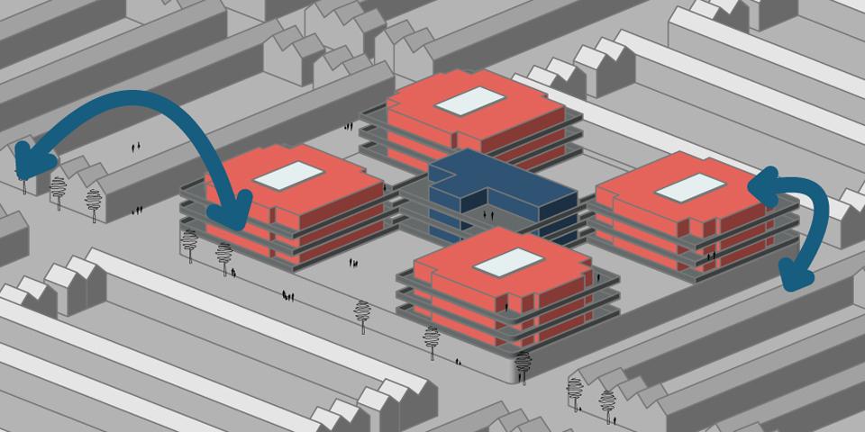wonen in de toekomst: havensteder hub