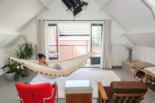 hangmat loft noordereiland