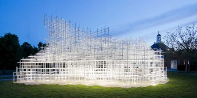 Serpentine Gallery Pavilion door Sou Fujimoto