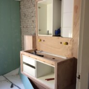 ruwbouw betonlookbadkamer klaar